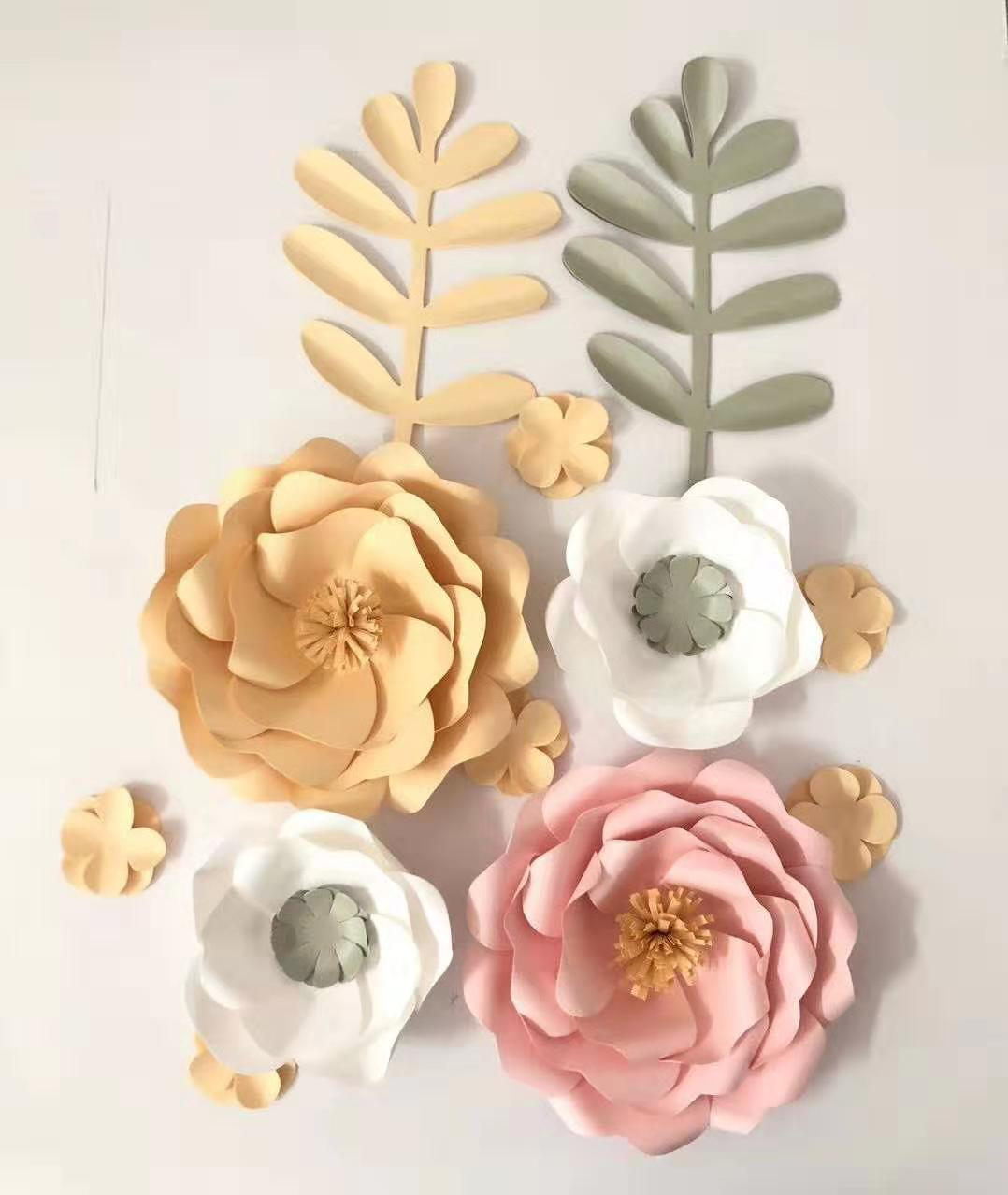 beautiful rosette tissue paper flower
