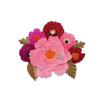 paper flower vase wholesale