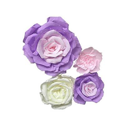 paper mache flowers wholesale