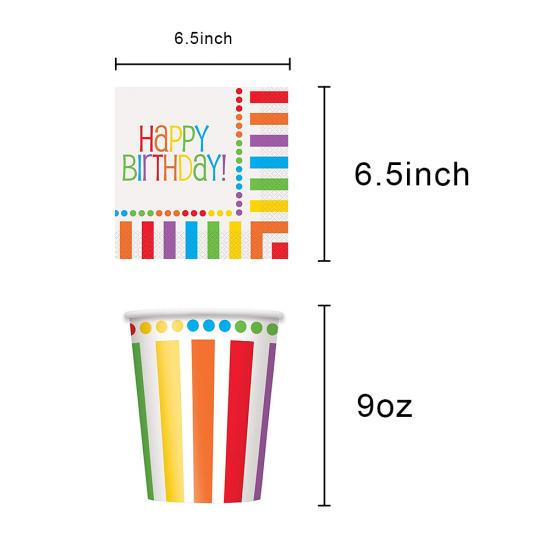 Rainbow Party Supplies supplier