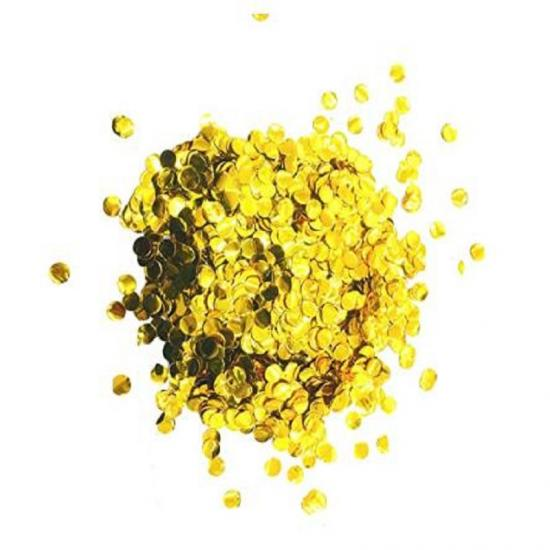 Metallic Gold Foil confetti wholesale