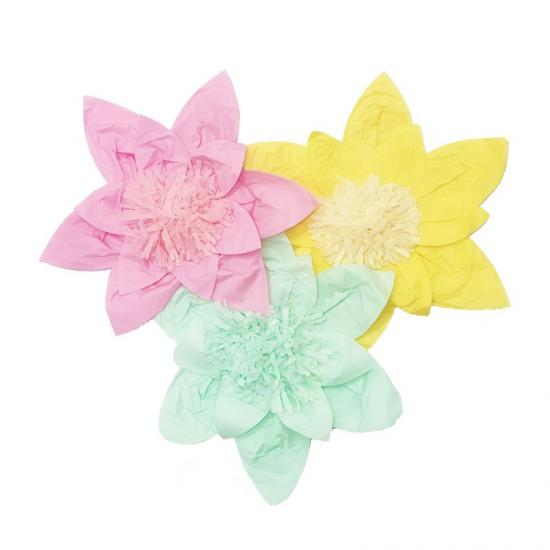 tissue paper flowers decorative wholesale