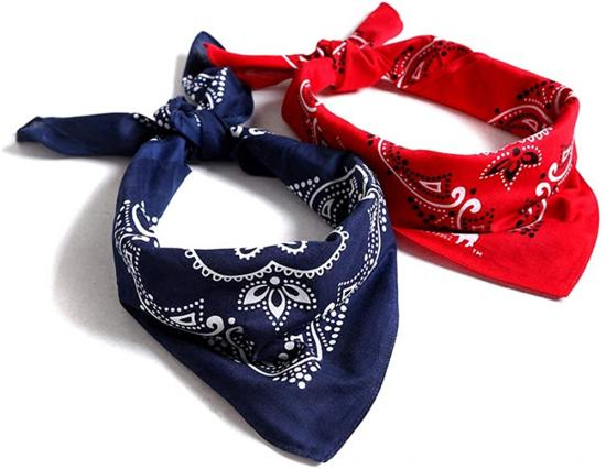 Low MOQ face scarf bandana